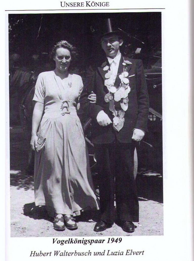 Vogelkönigspaar 1949