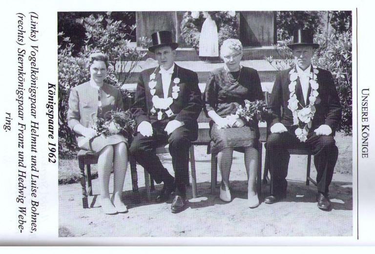 Königspaare 1962