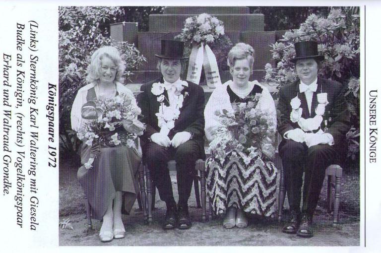 Königspaare 1972