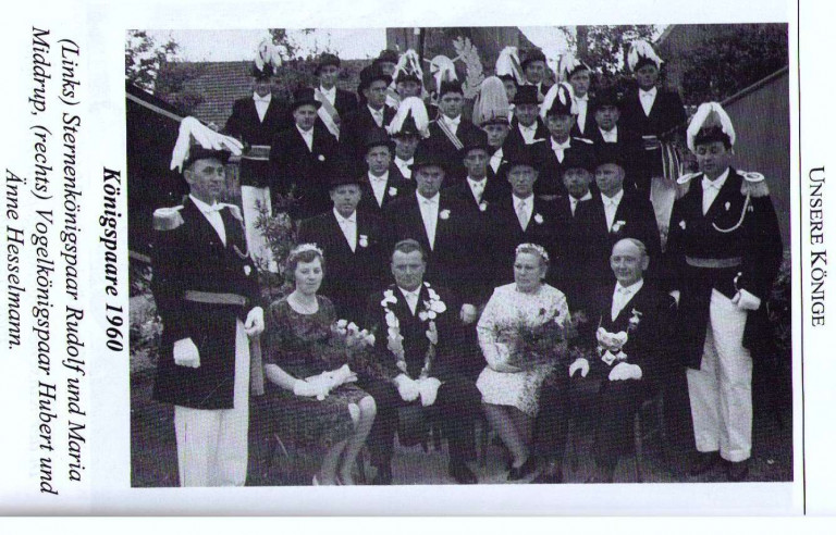 Königspaare 1960