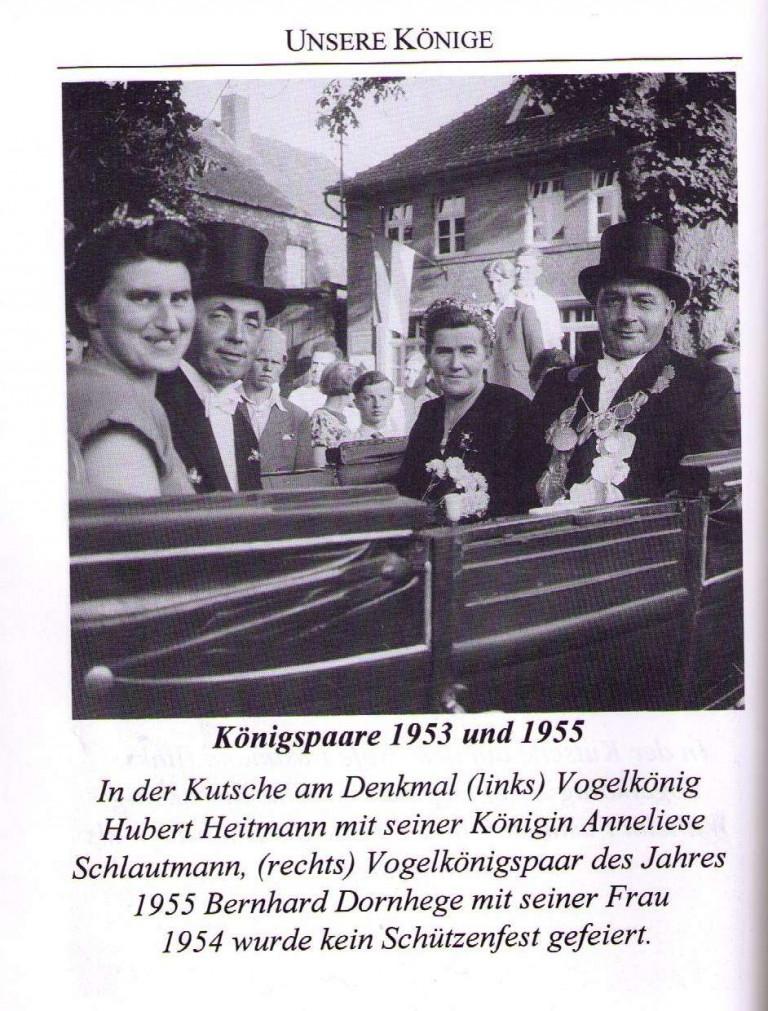 Königspaare 1953 & 1955
