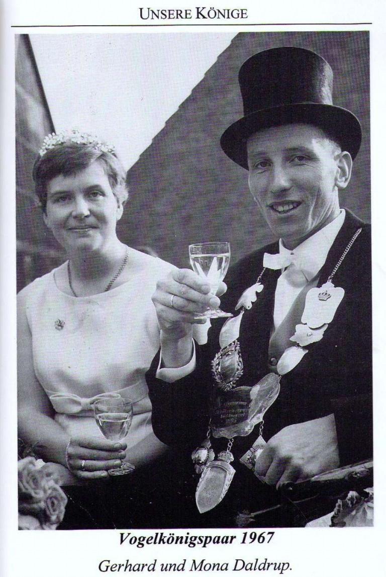 Vogelkönigspaar 1967