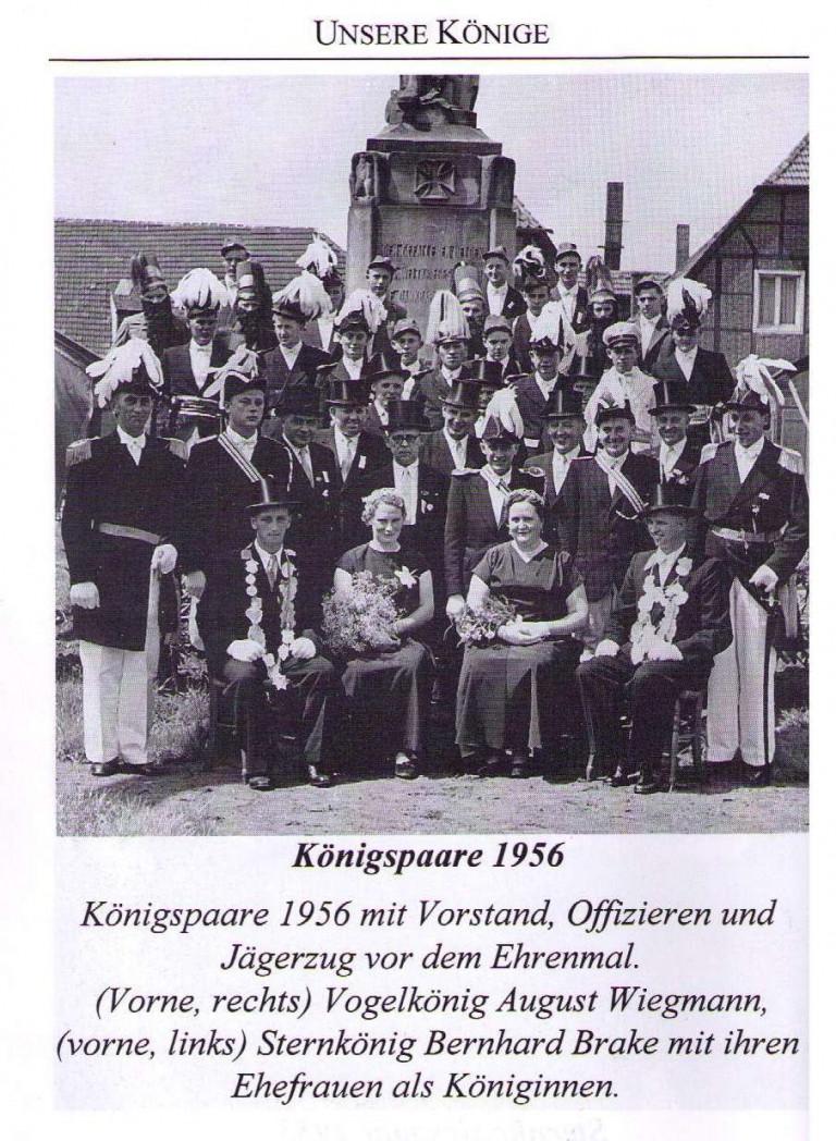 Königspaare 1956