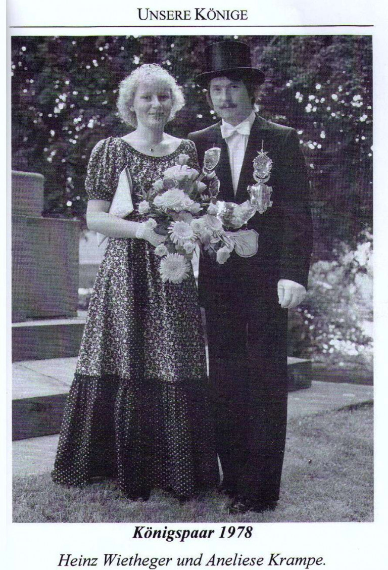Königspaar 1978