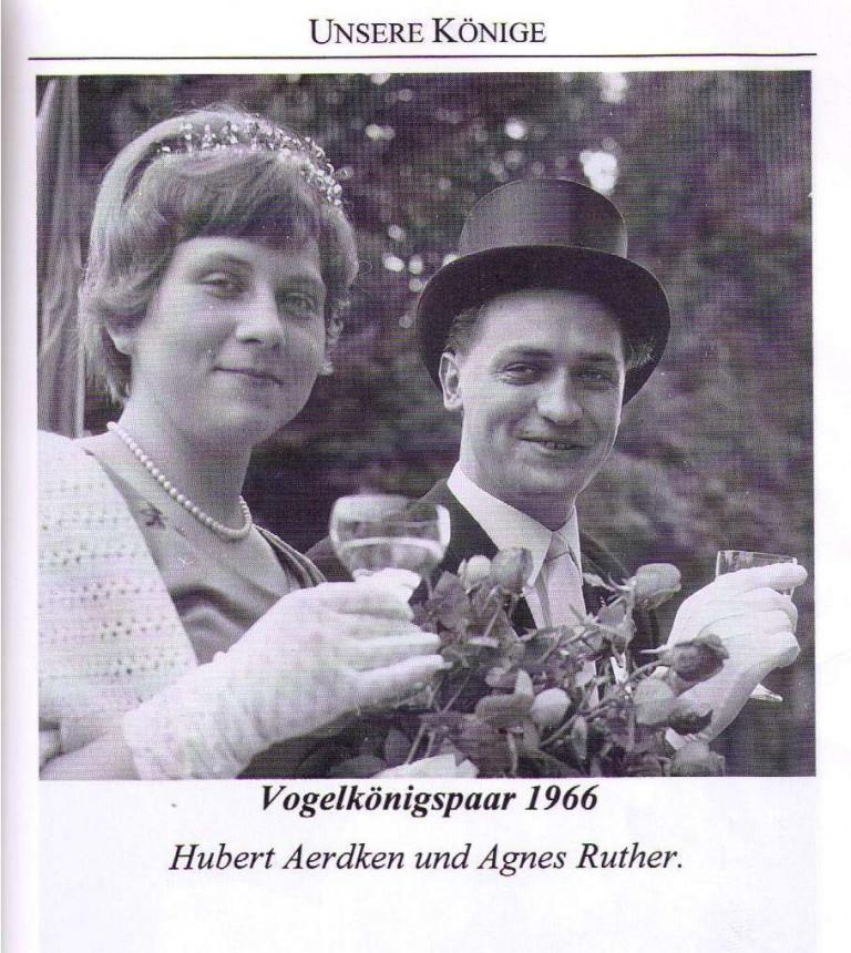 Vogelkönigspaar 1966