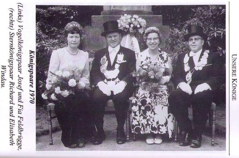 Königspaare 1970