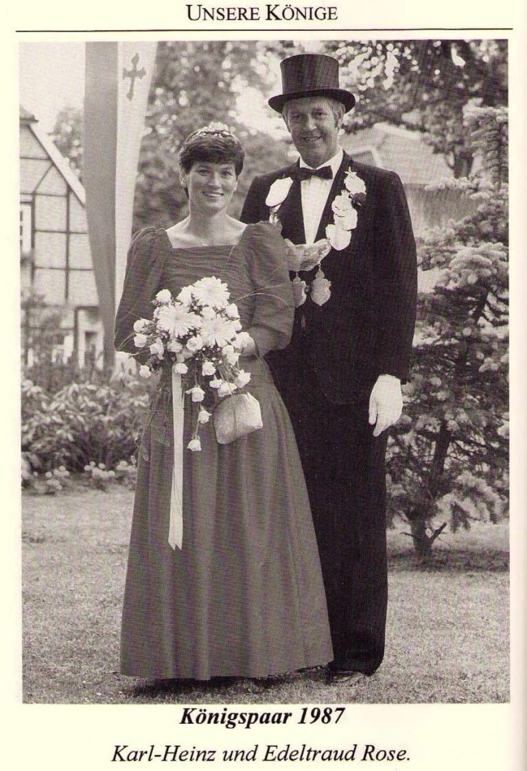 Königspaar 1987