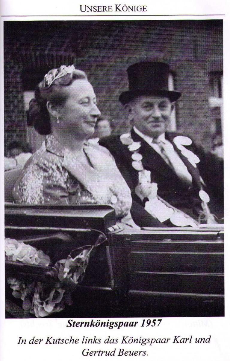 Sternkönigspaar 1957