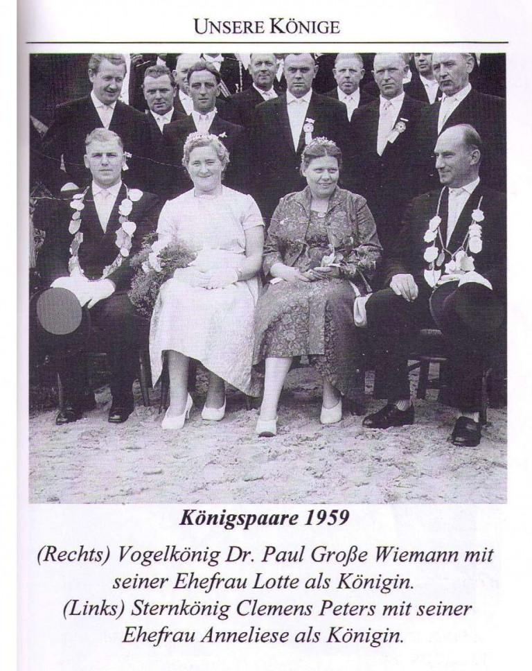 Königspaare 1959