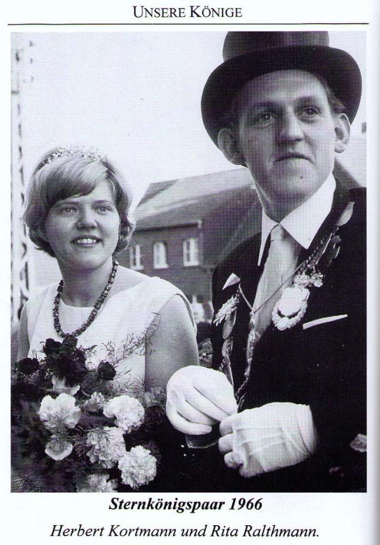 Sternkönigspaar 1966