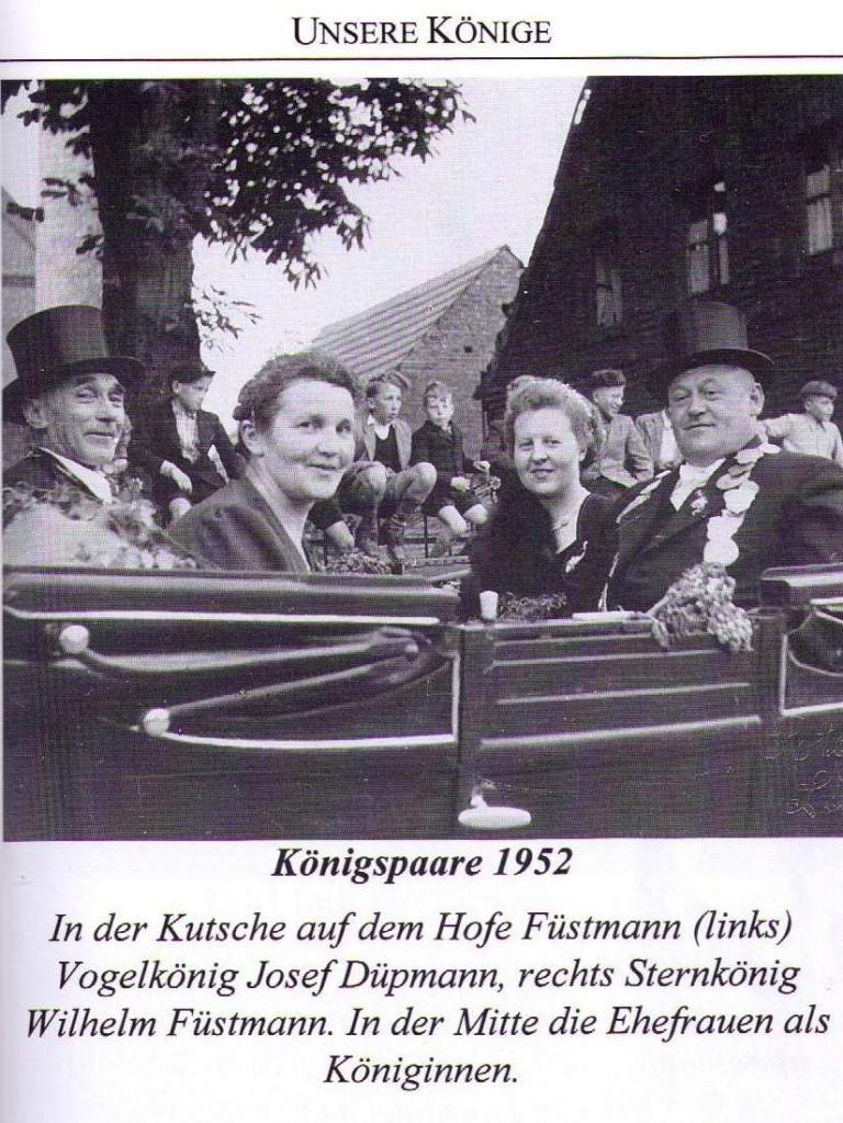 Königspaare 1952