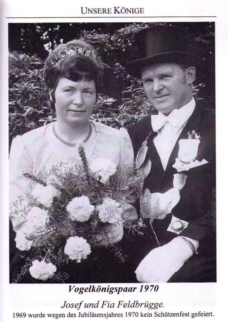 Vogelkönigspaar 1970