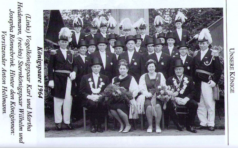 Königspaare 1964