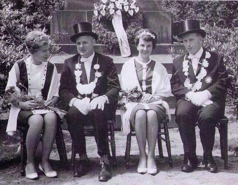Königspaare 1963