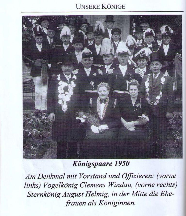 Königspaare 1950