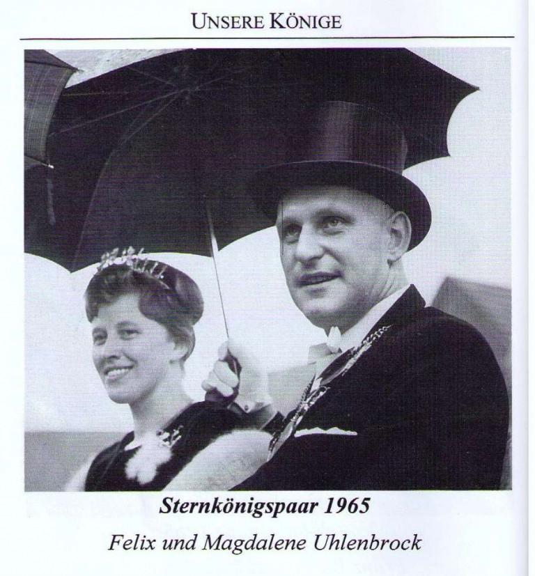 Sternkönigspaar 1965